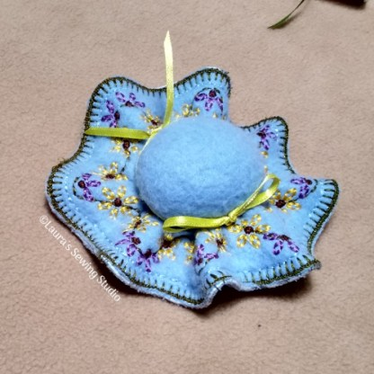 In-The-Hoop 6-Inch Pincushion