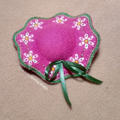 In-The-Hoop 4-Inch Pincushion