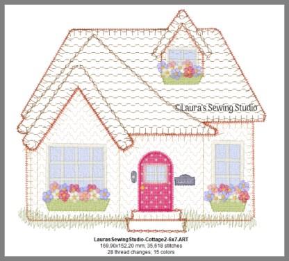 Cottage Love 7-Inch Design Details