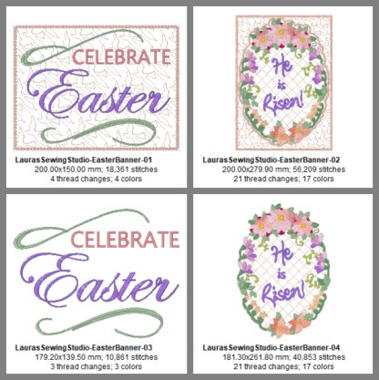 Celebrate Easter Banner Project Design Details Pg 1