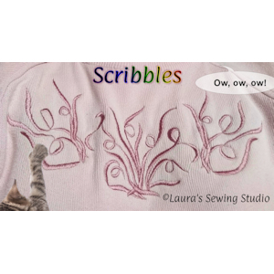 Scribbles Collection of 4x4 Designs