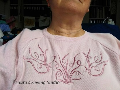 My Scribbles Sweater - Free Embroidery Designs - the whole thing - extra-large view