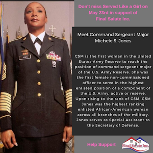 Ms. Veteran America Founder