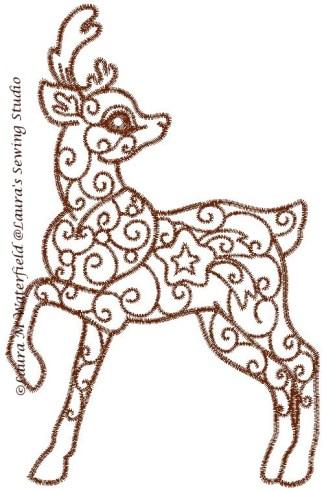 Enchanted Reindeer No. 2
