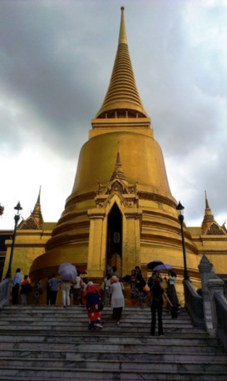 Golden Pagoda, Grand Palace. B.I.G.