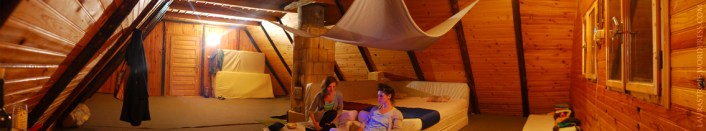 our room in the attic
