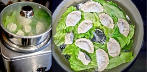 You can steam your dumplings in a wide pan with a vegetable basket or in the rice cooker!