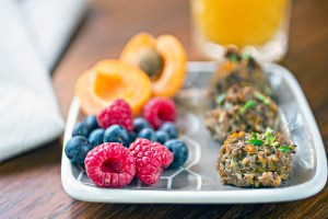 Venison recipes: Breakfast Meatballs