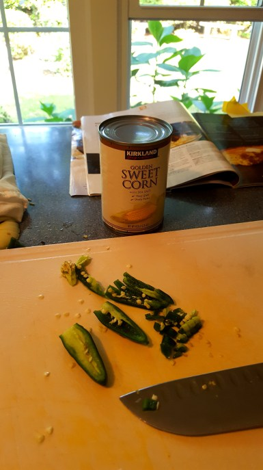 Oh yeah, there's my trusty can of Costco (my love) corn