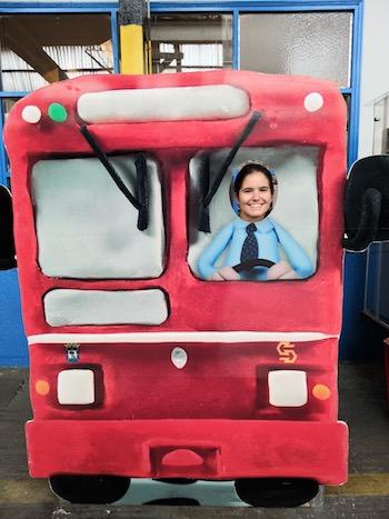 autobús museo de la emt laura tejerina