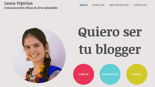 quiero ser tu blogger laura tejerina