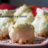 Rețetă simplă pentru macaroons cu cocos