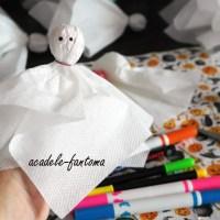 Last minute Halloween ideas: Acadele-fantomă