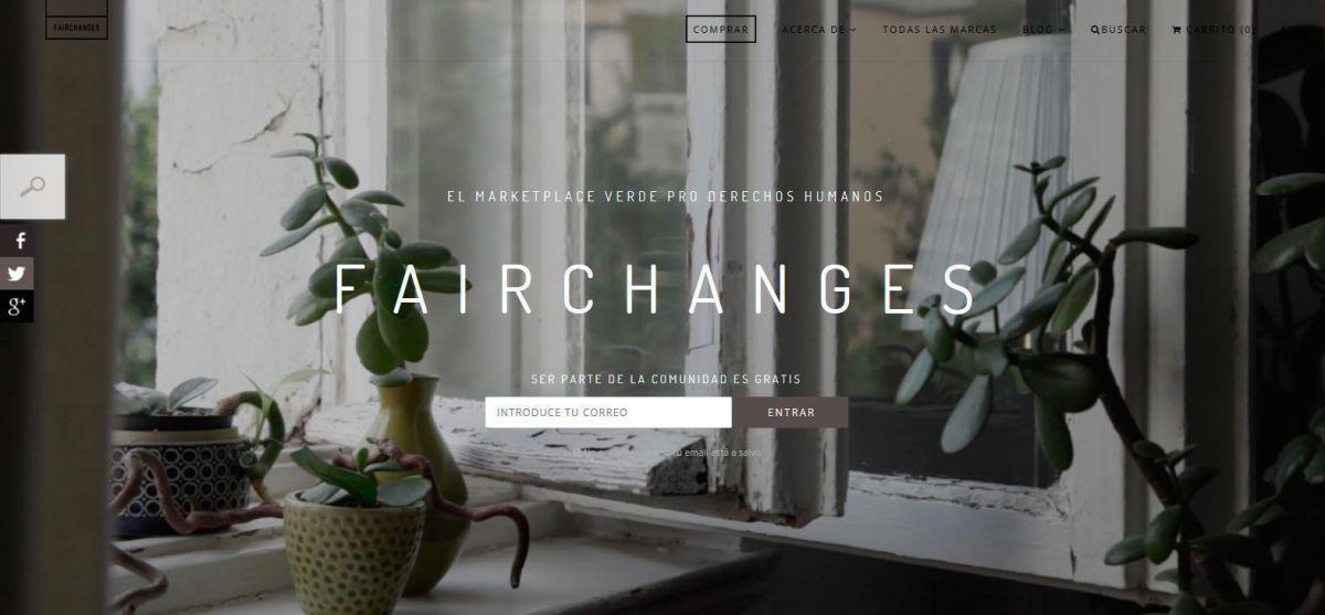 fairchanges - marketplace verde