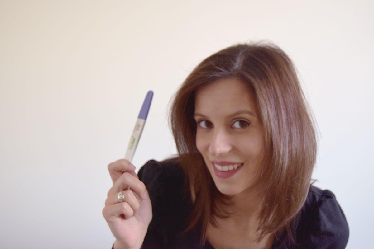 embarazada - test positivo
