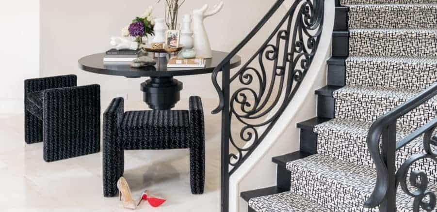 9 Stair Runner Rugs To Obsess Over Right Now Laura U | Stairway To Darkness Rug | Area | Tardis | 3 Dimensional | Floor | Scary
