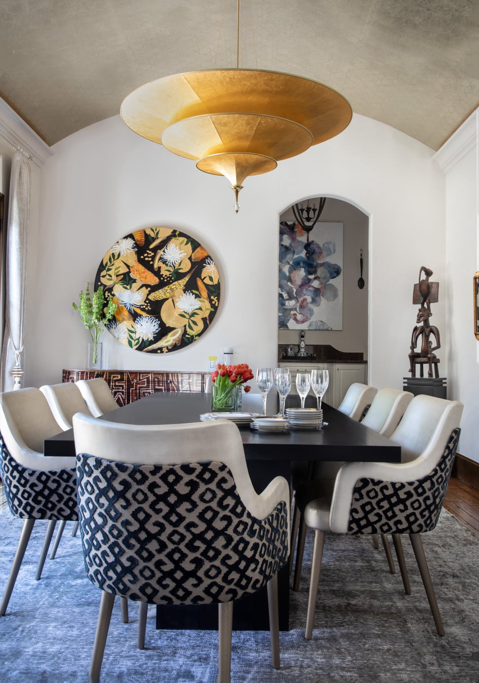 Circle Drive Art Collection Using Art In Interior Design