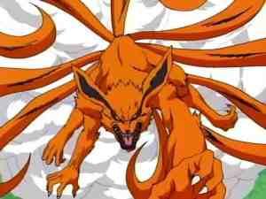 Naruto's kitsune