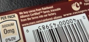 Dove Chocolate Rainforest Alliance Certified