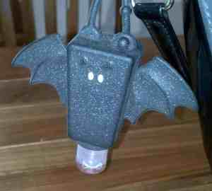 bat shaped hand sanitizer