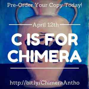 C is for Chimera goes on sale April 12