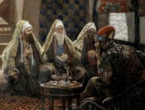 The Magi in the House of Herod, by James Tissot