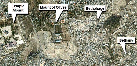 Jerusalem to Gethsemane