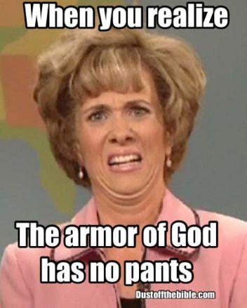 Armor of God meme