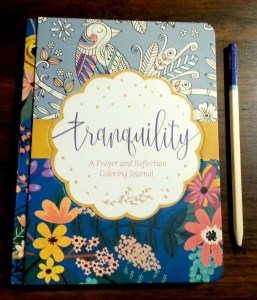 Tranquility Coloring Journal