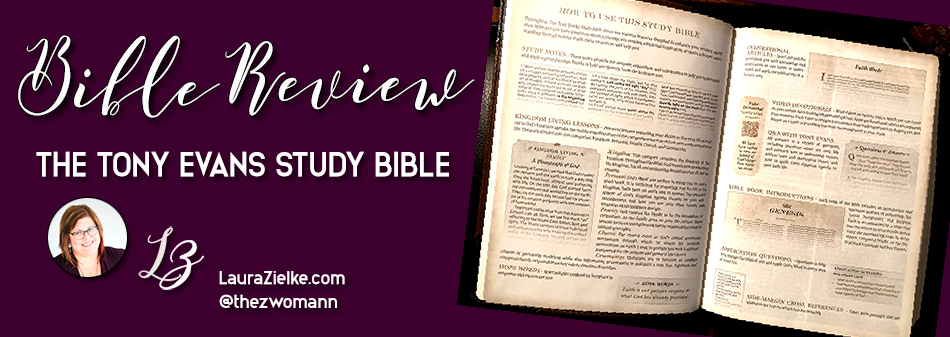 Bible Review: The Tony Evans Study Bible