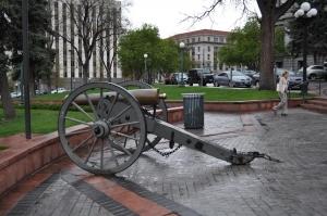 Napoleonic Cannon from the Civil War, Denver, Colorado