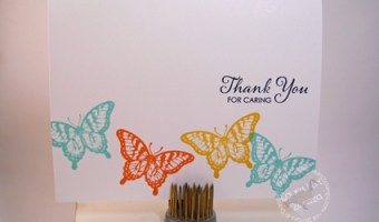 Thank You For Caring Card