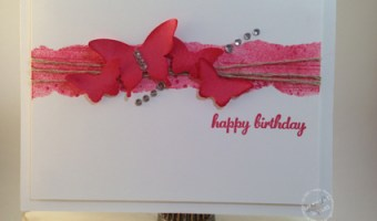 Masking Techique: Butterfly Birthday