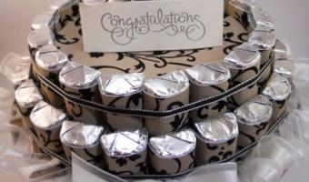 Bridal Chocolate Nugget Cake