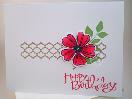 Intense-Pink-Flower-Card