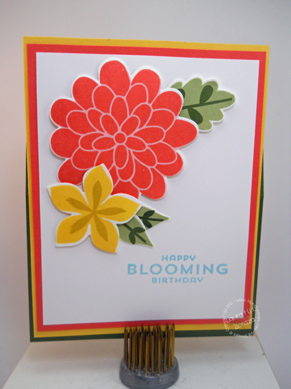 Blooming-Easel