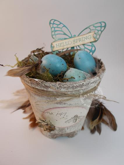 Spring Peet Pot idea