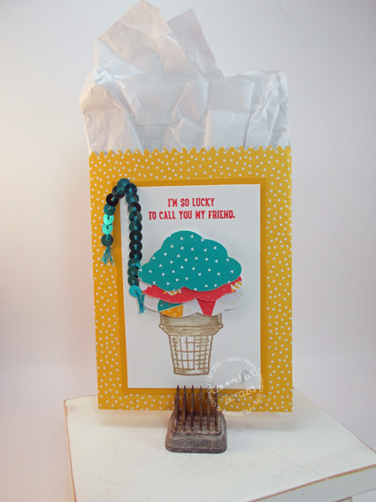 Mini Treat Bag-with Ice Cream cone
