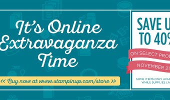 Get ready for Online Extravaganza 2016
