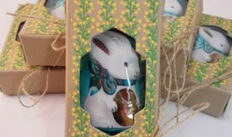 A Spring Bunny Box