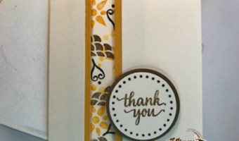 Create little Thank you's