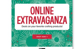 It's ONLINE EXTRAVAGANZA TIME!!