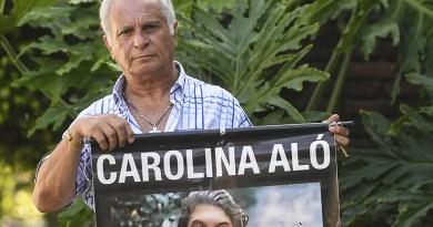 Padre de Carolina Aló presenta 100.000 firmas para que Tablado siga preso