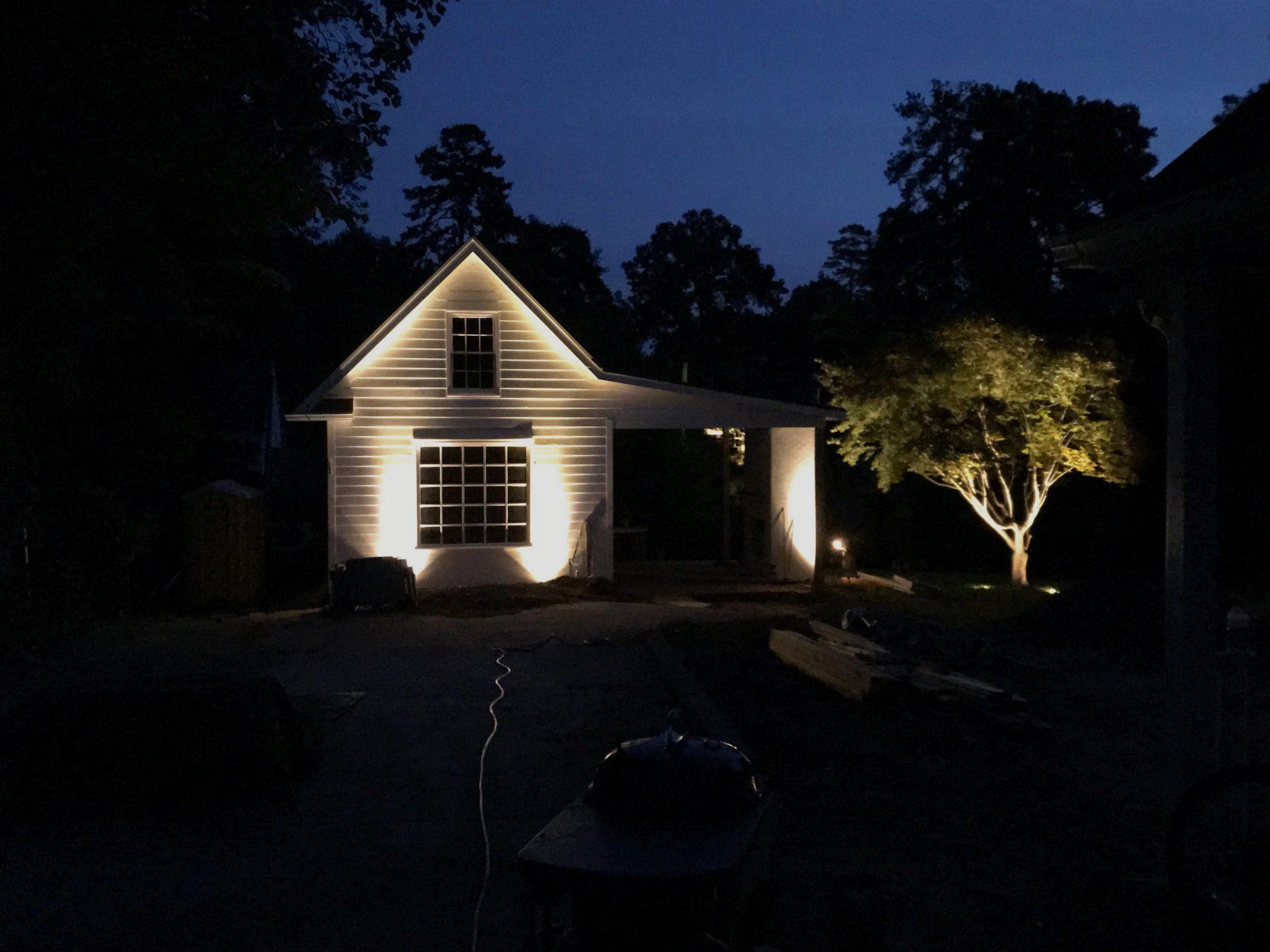 night lighting laurdane associates