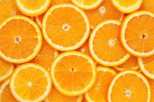 La poudre d'orange