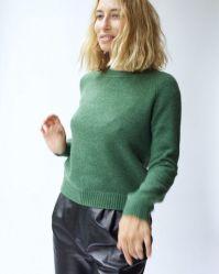 Ché pas c'qui s'passe, Alexandra Golovanoff me donne envie de porter du vert.