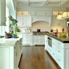 Hardware For White Kitchen Cabinets Children Play A Classic Laurel Bern Interiors