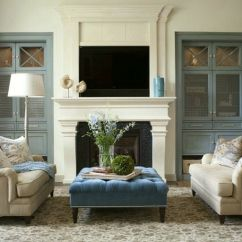 Living Room Mantel Decor Yellow And Gray 20 Great Fireplace Decorating Ideas Laurel Home Blog