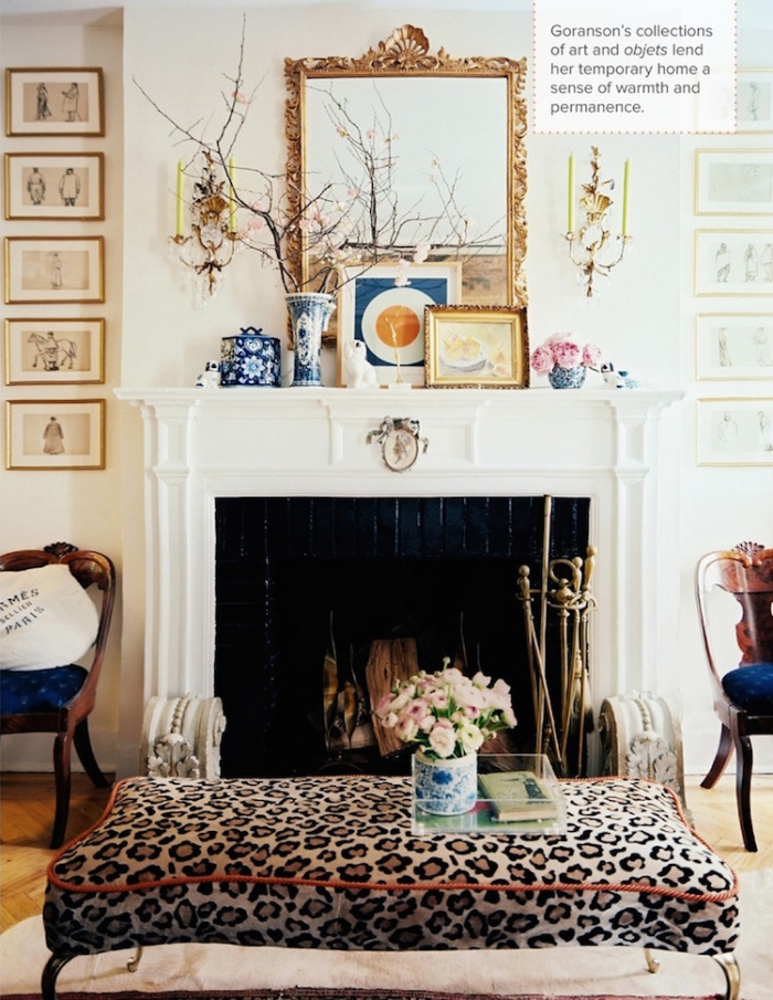 living room mantel decor show me pictures 20 great fireplace decorating ideas laurel home blog jessica goranson in lonny mag