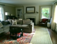 My Area Rug Is Too Small! Now What? | Laurel Home